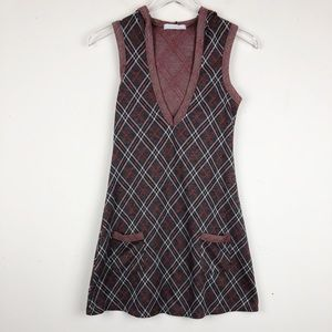 Charlotte Russe | Plaid Mini Dress Size Small